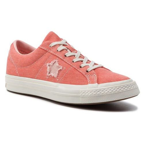 Tenisówki CONVERSE - One Star Ox 164362C Turf Orange/Bleached Coral