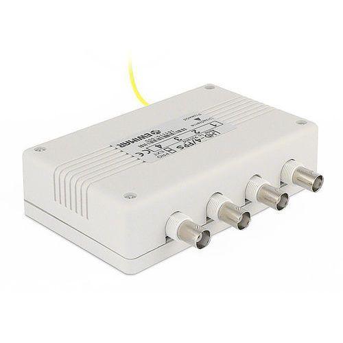 LHD-4-PRO-FPS Zabezpieczenie przeciwprzepięciowe toru video z konwerterem UTP