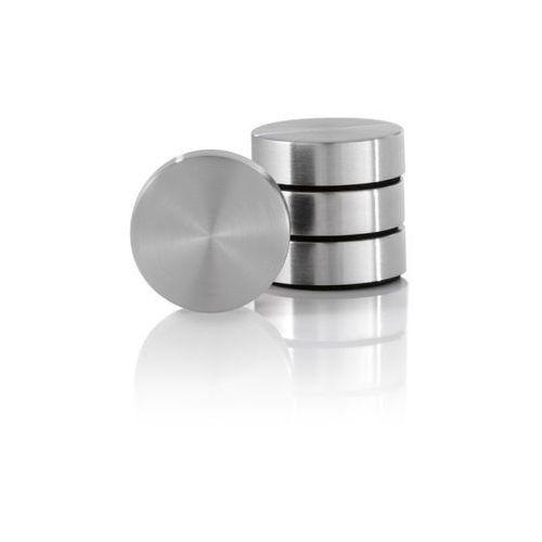 Blomus Zestaw 4 magnesów z podładką - - muro - 2,5 cm