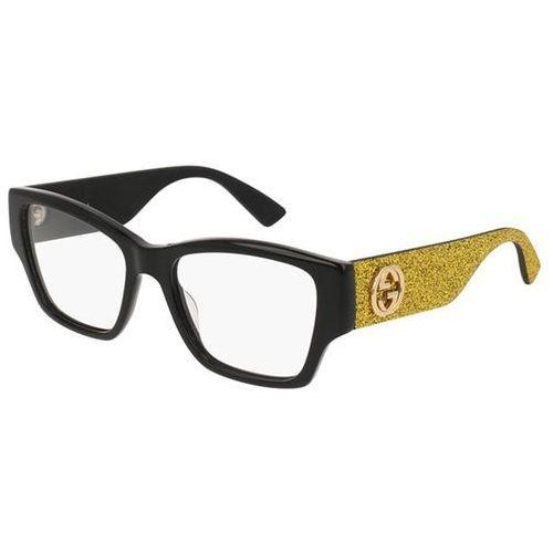 Gucci Okulary korekcyjne gg0104o 002