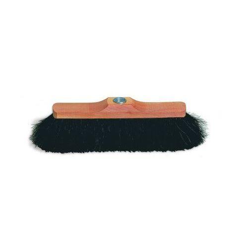 Redecker - Szczotka do zamiatania podłogi z końskiego włosia - 28.5 cm + drewniany kij - oferta [05d5dfa0cf635332]