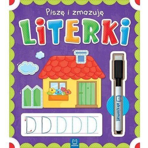 Piszę i zmazuję Literki - opracowanie zbiorowe - książka, oprawa broszurowa