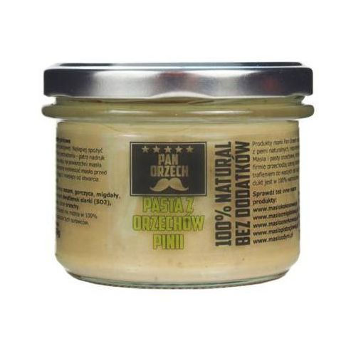 PAN ORZECH 200g Pasta z orzechów piniowych