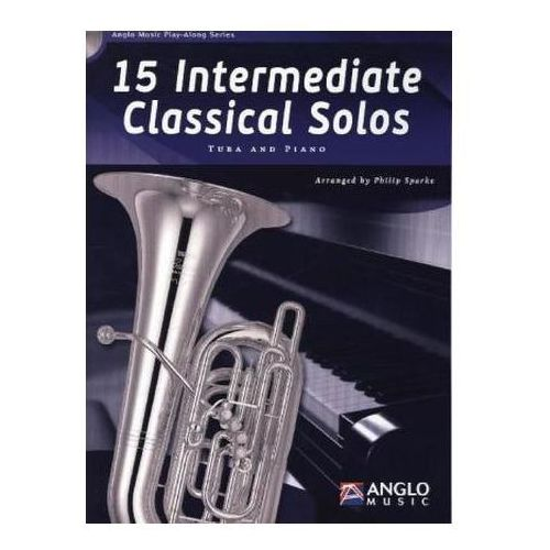15 Intermediate Classical Solos, für Tuba + Klavier, m. Audio-CD (9789043135764)