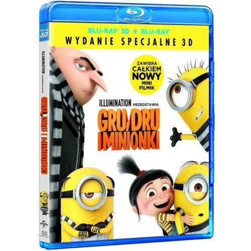 Gru,dru i minionki 3d (blu-ray disc 3d) - . darmowa dostawa do kiosku ruchu od 24,99zł marki Filmostrada
