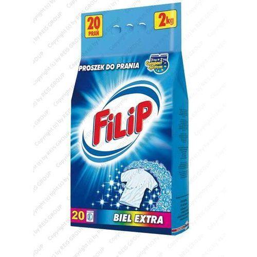 PROSZEK DO PRANIA 2 kg - FILIP-PR2BIA (proszek do prania ubrań)