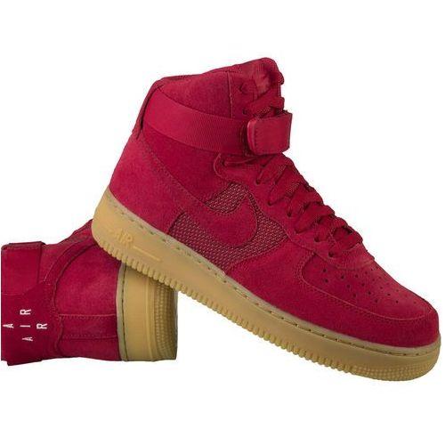 Nike Air Force 1 High '07 LV8 806403-601 - Czerwony, kolor czerwony