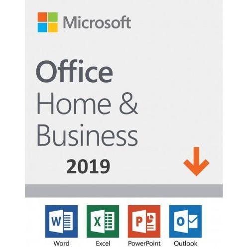 Microsoft office home & business 2019 esd pl win/mac, nowa licencja redencja