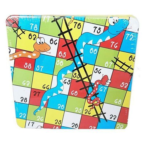 Drewniana gra Wąż kółko i krzyżyk - Jeśli zamówisz do 14:00, wyślemy tego samego dnia.