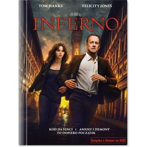 Inferno (dvd + książeczka) - ron howard marki Imperial cinepix