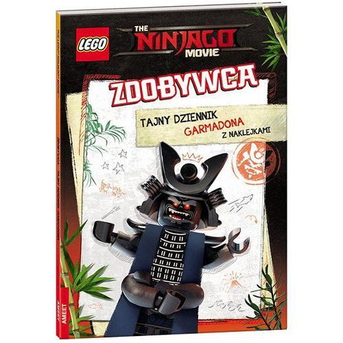 THE LEGO® NINJAGO® MOVIE™. ZDOBYWCA. TAJNY DZIENNIK GARMADONA