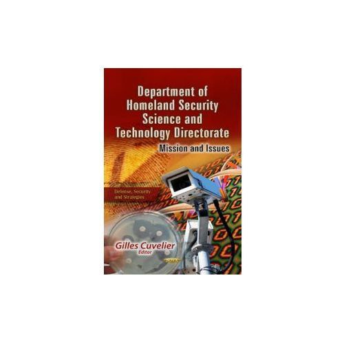Department of Homeland Security Science & Technology Directorate