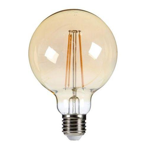 Diall Żarówka led filament gold g95 e27 5 5 w 470 lm przezroczysta barwa ciepła