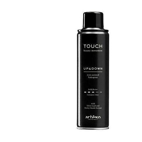 touch up and down, lakier w sprayu o średnim utrwaleniu włosów 250ml marki Artego