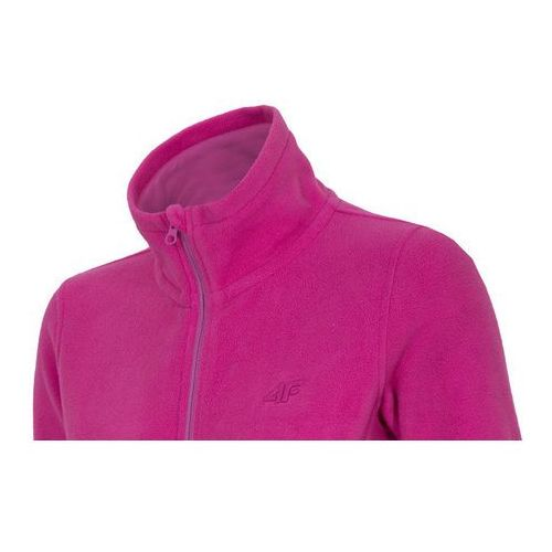 Damska bluza polarowa PLD001 4F - Fuksja, kolor różowy
