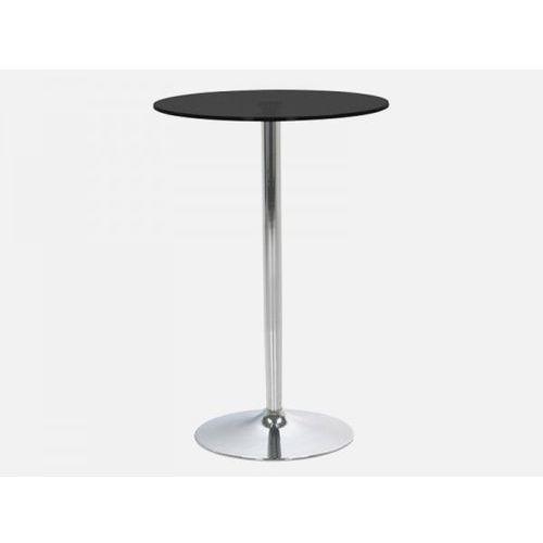 Stół Barowy Becky czarny szklany Actona H000013654 - produkt dostępny w sfmeble.pl