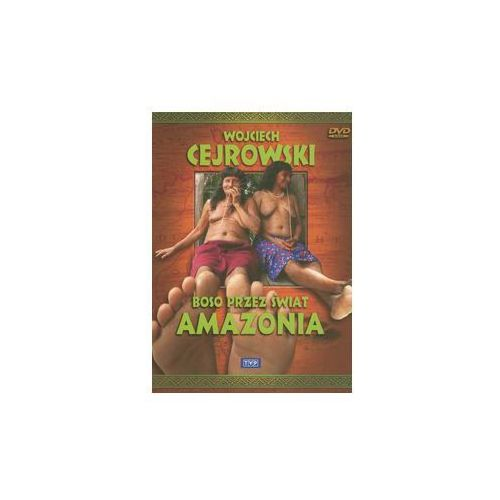 DVD Boso przez świat Amazonia. Darmowy odbiór w niemal 100 księgarniach!