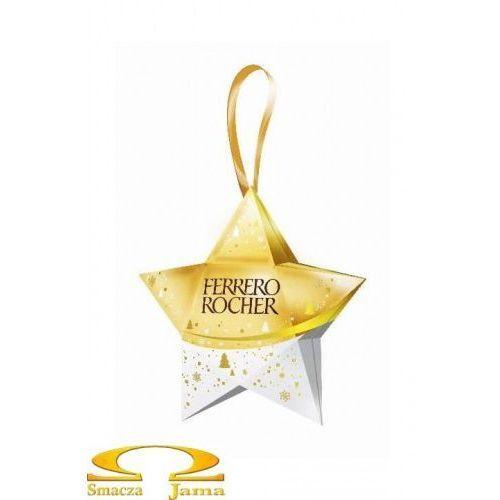 rocher świąteczna gwiazdka 37,5g marki Ferrero