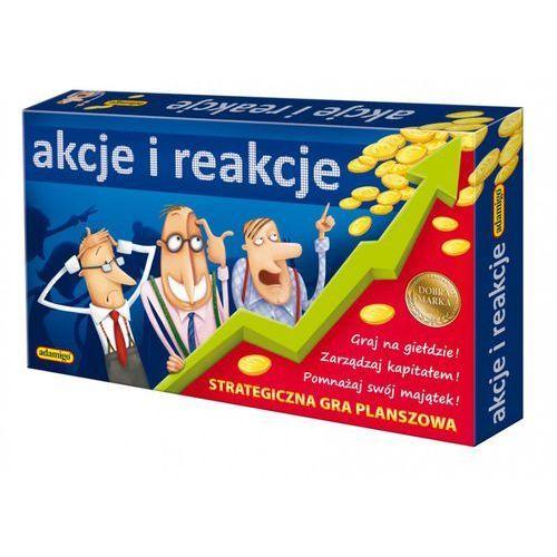 Adamigo Akcje i reakcje. strategiczna gra planszowa