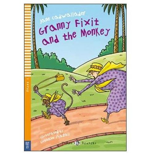 Granny Fixit and the Monkey + CD, Jane Cadwallader