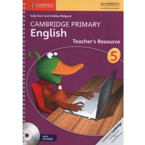 Cambridge Primary English 5. Teacher's Resourse Book + CD-ROM, oprawa miękka