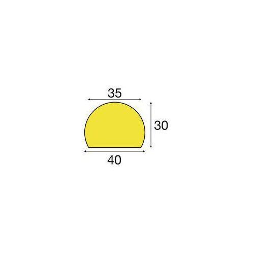 Zabezpieczenie powierzchni Knuffi®,typ C, indywidualne docięcie, na metr bieżący
