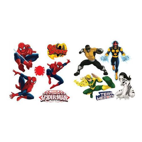 Naklejka samoprzylepna Spiderman 40 x 30 cm 2 szt., 12007