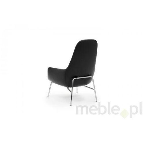 Fotel Era Chromowy z Wysokim Oparciem sørensen-tango leather Normann Copenhagen 602863