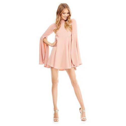 Sukienka Santa Maria w kolorze różowym, kolor różowy