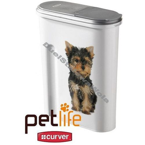 CURVER PETLIFE 1,5kg 4,5L pojemnik na karmę pudełko Piesek - sprawdź w organizery.eu