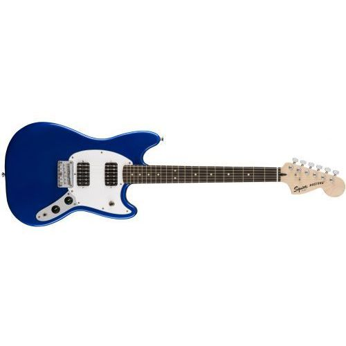 Fender Bullet Mustang HH, Laurel Fingerboard, Imperial Blue gitara elektryczna