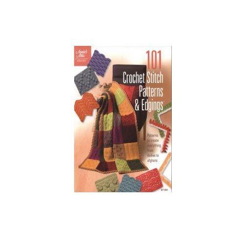 101 Crochet Stitch Patterns & Edgings (176 str.)