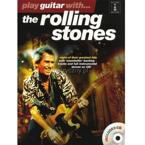 the rolling stones - play guitar with... (utwory na gitarę + cd) marki Pwm