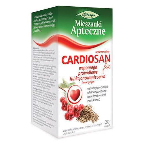Cardiosan zioła fix x 20 saszetek marki Herbapol lublin