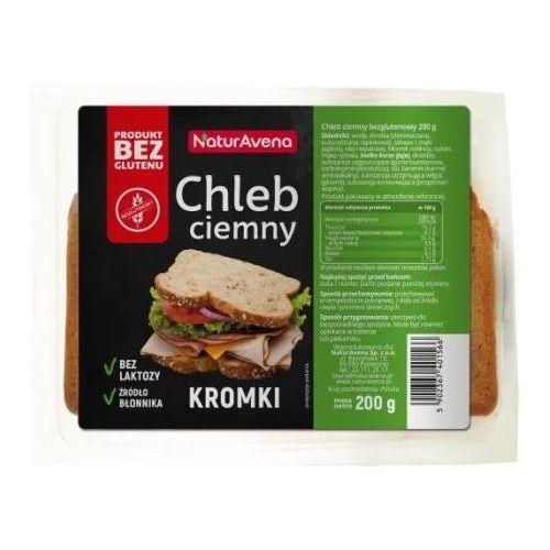 Chleb Ciemny Kromki Bezglutenowy 200g - NaturAvena