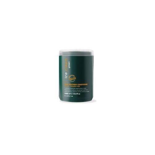 Inebrya green post treatment, eko-odżywka do włosów osłabionych i zniszczonych zabiegami, 1000ml
