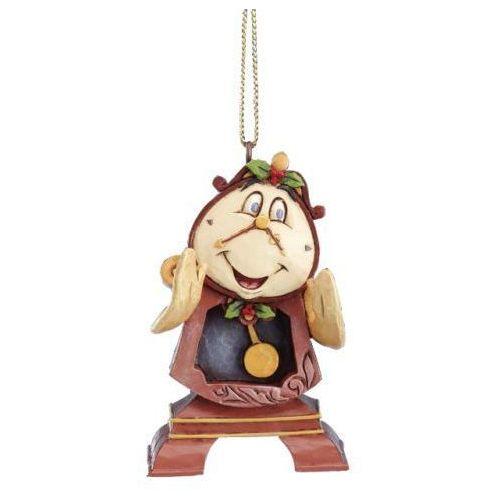 Zegar budzik cogsworth piękna i bestia 7 cm. figurka ozdoba świąteczna marki Jim shore