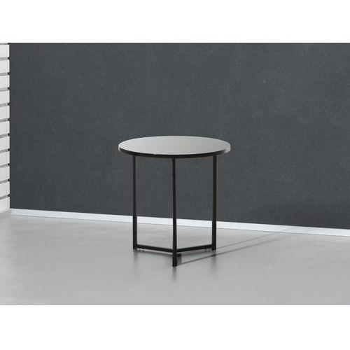 Nowoczesny stolik kawowy czarny - lawa - stól - 50x50 cm - TRIBECA, Beliani z Beliani