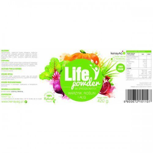Kenayag Lifepowder - mix sproszkowanych warzyw, roślin i alg (420 g) (5900672151107)