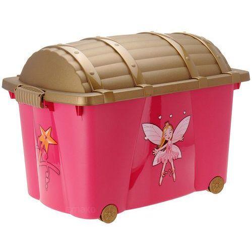 Skrzynia - pojemnik na zabawki dla dzieci księżniczki marki Emako