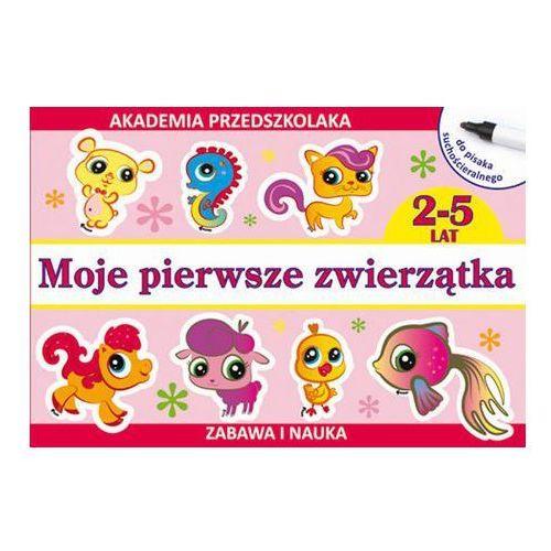 Akademia przedszkolaka. Moje pierwsze zwierzątka - Paruszewska Joanna, Pawlicka Kamila, praca zbiorowa