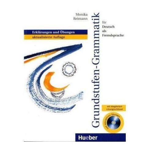 Grundstufengrammatik für DaF mit Lösungsschlüssel + CD-ROM, Hueber