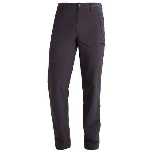 The North Face EXPLORATION Spodnie materiałowe asphalt grey, proste