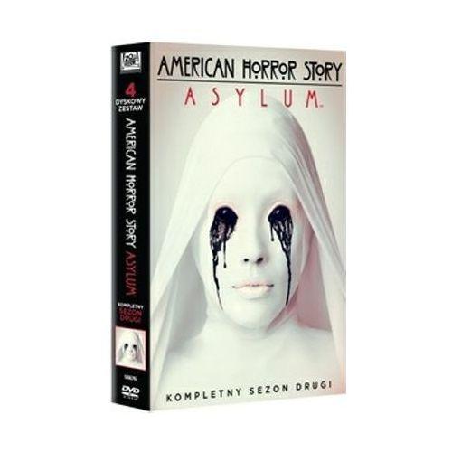 American Horror Story. Asylum, sezon 2 (4xDVD) - Brad Falchuk, Ryan Murphy DARMOWA DOSTAWA KIOSK RUCHU (5903570156625)