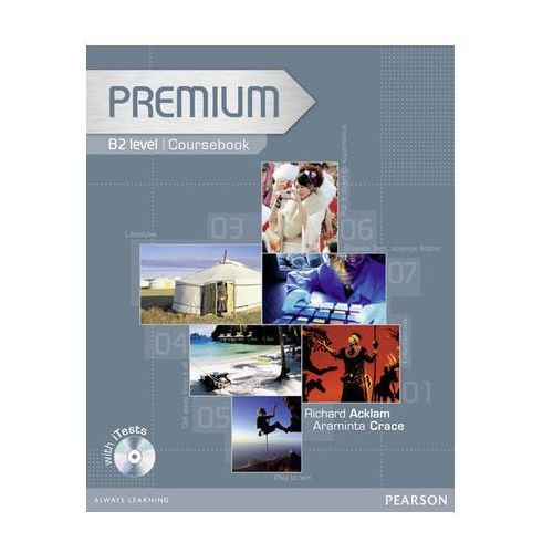 Premium B2 Coursebook (podręcznik) plus Exam Reviser plus iTest CD-ROM (208 str.)