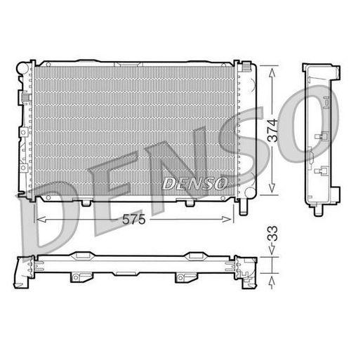 Chłodnica, układ chłodzenia silnika DENSO DRM17064, DRM17064
