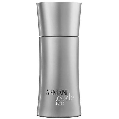 Giorgio Armani Code Ice, woda toaletowa, 50ml (M) z kategorii Wody toaletowe dla mężczyzn