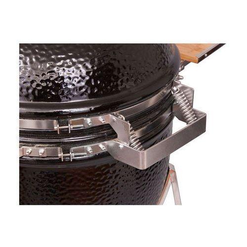 Grill ceramiczny Monolith, czarny lub bordowy, ruszt 46 cm, marki Monolith (Niemcy) do zakupu w FOODLOVERS.PL