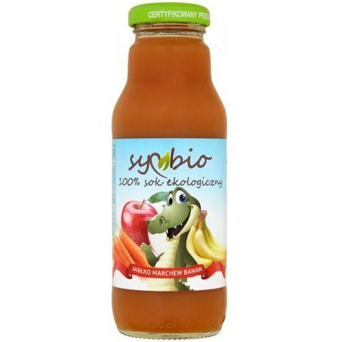 Symbio sok marchew + jabłko + banan bez cukru bio 300ml (5903874562757)