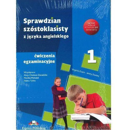 Sprawdzian 6-klasisty. Ćwiczenia egzaminacyjne. Część 1, 2, 3 (Answer Key) + zakładka do książki GRATIS, Express Publishing